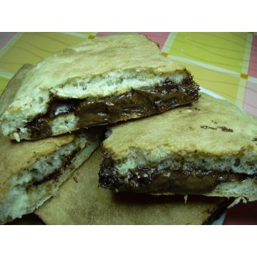 Panino Pizza con Nutella